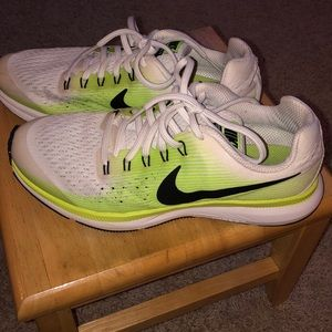 Boys size 6 Nike running shoes